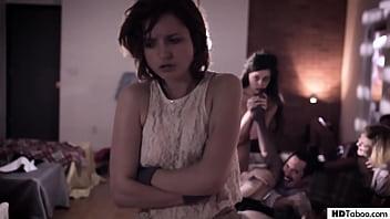 Strange orgy in an establishment - Ashley Adams, Whitney Wright, Eliza Jane