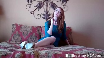 I am going to give you an absolutely brutal ballbusting