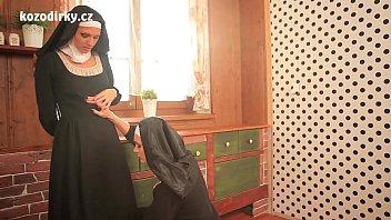 thumb Beautiful Nuns Enjoying Lesbian Adventure