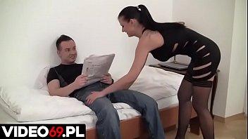 Polskie porno - Footjob made in Poland