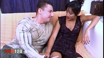 Asian goddess ass fucked by a big dick thumbnail