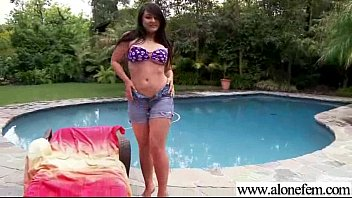 Hot Scene With Lonely Girl Masturbating With Things movie-28