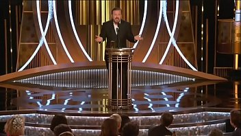 Ricky Gervais fuck'_s every single artist from Hollywood from bihind .. and they loved .