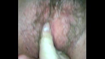 Fingering my voluptuous wife till orgasm.