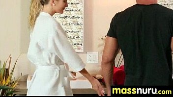 Sweetie gives a hot slippery nuru massage 18