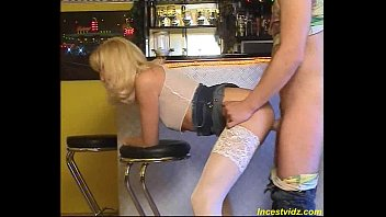 fuck in the bar with German mommy