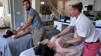 young stepsons swap and fuck their stepmoms april storm and nickey huntsman