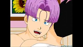 Sexo gay de dragon ball z something is