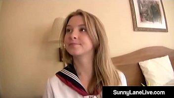 Stiff Asian Noodle Bangs US School Girl Sunny Lane!