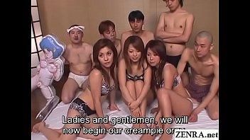 JAV real deal big orgy party begins Subtitles