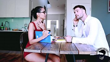 English Teacher    Student Role Play With Colu  Play With Columbian Beauty  Andreina Deluxe   Teaser