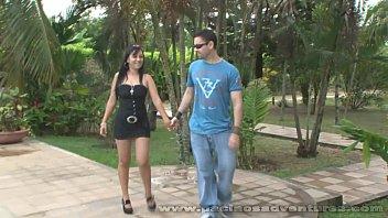 Video porno brasileiro Camila Gomez ensaiando a sacanagem