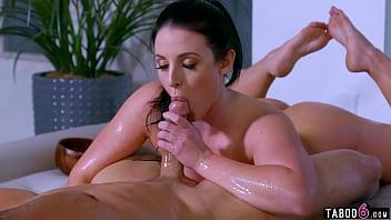 Huge boobs MILF pornstar Angela White best porn compilation video