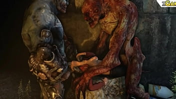 Doom monster...