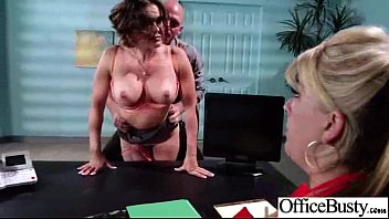 Hard Intercorse With (krissy lynn) Big Round Tits Slut Office Girl clip-22