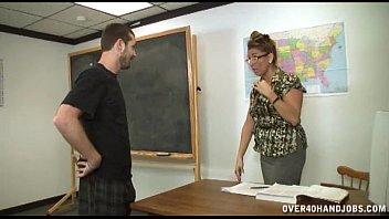 Forced handjob in the classroom Thumb5