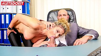 Izzy Mendosa sex in the office with a colleague, caught on porn