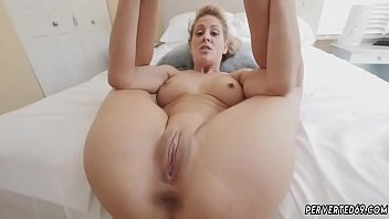 bosss mom blonde big tits Cherie Deville in Impregnated By My