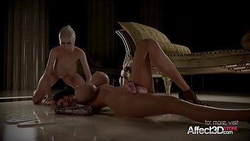 thumb Horny Blonde And Her Big Tits Girlfriend Enjoying Futa Sex