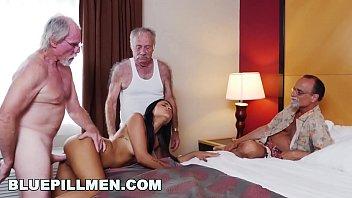 Streaming Video BLUE PILL MEN - Geriatric Friends Having Loads Of Fun With Sexy Latina Nikki Kay - XLXX.video