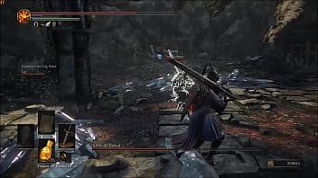 Dark souls 3 batalha de anime ao som...