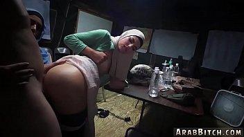 cover video Arab Slut Teen Sneaking In The Base