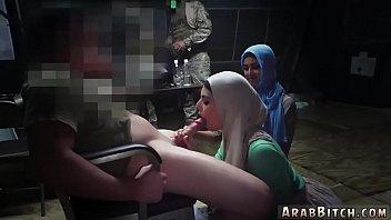 thumb Arab Slut Teen Sneaking In The Base