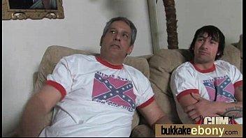 Interracial Gangbang With White Dicks 18
