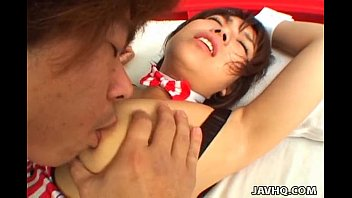 Delicious Japanese sweety enjoys having wild kinky sex thumbnail