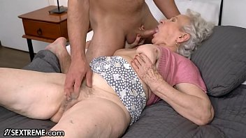 Lina's mother sucks it lustfully while rubbing her pussy