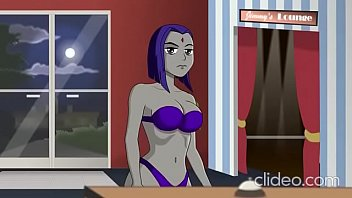 cartoon hook-ups -the detective is questioning on raven