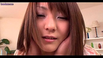 Pretty asian girl enjoys pussy pounding