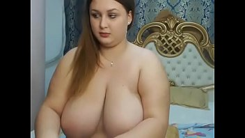 Huge tits chubby live strip show