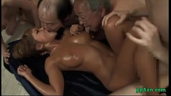 Hot tanned kissing with ugly men cum to...