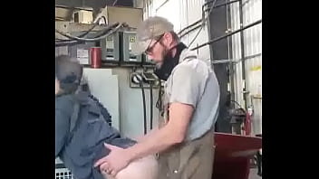 Quick Sneaky Blowjob At Work