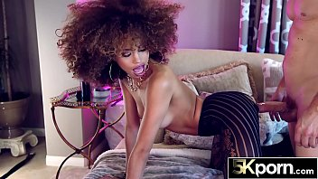 Streaming Video 5KPORN - Sexy Ebony Babe Cecilia Lion Facialed - XLXX.video