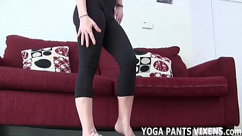 My ass in yoga pants is finer than fine JOI