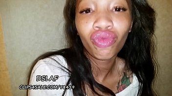 Ebony Teen With  Huge Dsls Gets Facial After S  Facial After Sucking Bbc  Dslaf