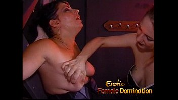 Two kinky sluts have some fun with a...