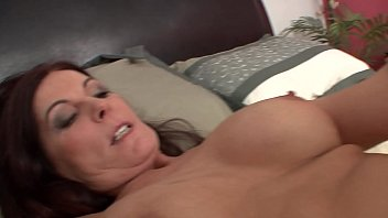 Mature brunette lady Magdalene St. Michaels is sucking blonde babe Randee Reed&#039_s hot pussy in the bed