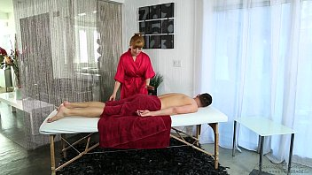 Redhead Penny Pax loves massage and anal sex thumbnail