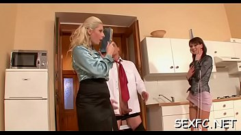 Aroused Daria Glower gets hammered from behind
