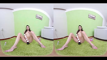 VRSexyGirlz.com  RUSSIAN SEXY TALK -PETITE TEEN in VR