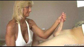 Download video sex Horny Granny Jerking Off