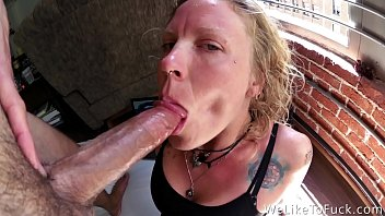 she won't stop untl he cums three times