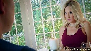 Bosses friend'_ partner'_s daughter dominated xxx Romantic Family Dinner