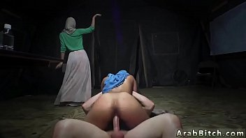 Arab Lady And M uslim Blowjob Sneaking In The  neaking In The Base