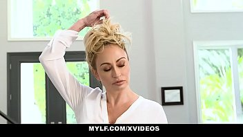 MYLF - Hot Blonde MILF Milks A Young Football Player To Get Pregnant
