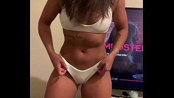 Trying On Bikini Leads To Sucking Cock