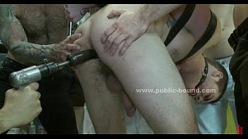 Teen gay tied in bdsm sex...